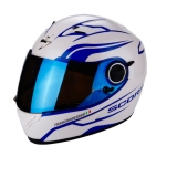 Scorpion EXO-490 Luz Pearl White Blue