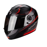 Scorpion EXO-490 Vision Black Neon Red
