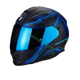 Scorpion EXO-510 AIR SYNC matt black blue