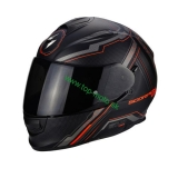 Scorpion EXO-510 AIR SYNC black neon red