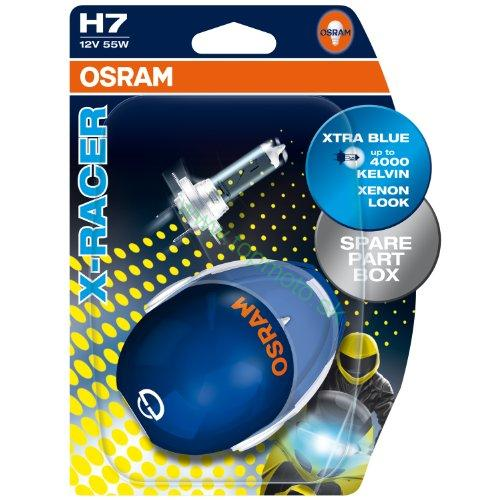 "Osram 12V H7 55W PX26D X-RACER ""Twinblister"""