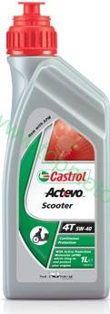 Castrol Act-Evo Scooter 4T 5W-40 1L