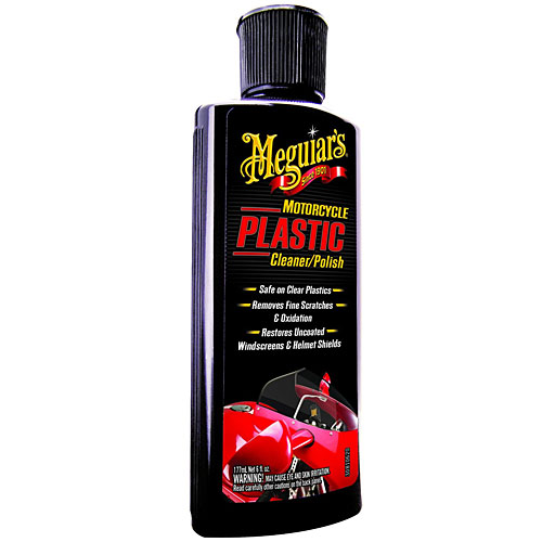 Meguiars Motorcycle Plastic Cleaner/Polish 177 ml