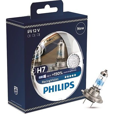 Philips Racing Vision H7 12V 55W +150% Box