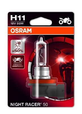 Osram Night Racer +50% 12V H11 55W