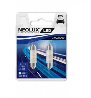 Neolux LED Retrofit 12V 0,5W SV8.5-8 6000K 36mm