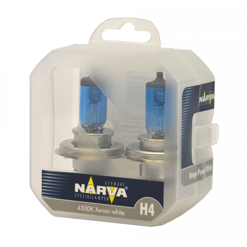 Narva Range Power White H4 12V 60/55W Box