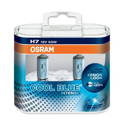 Osram 12V H7 55W Cool Blue Intense Box