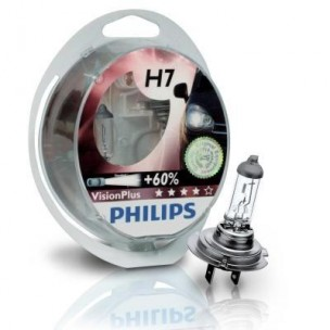 Philips Vision Plus H7 12V 55W Box