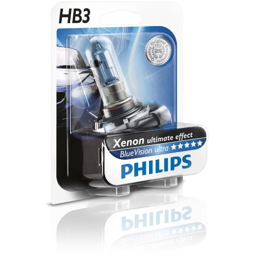 Philips Blue Vision Ultra HB3 12V 60W