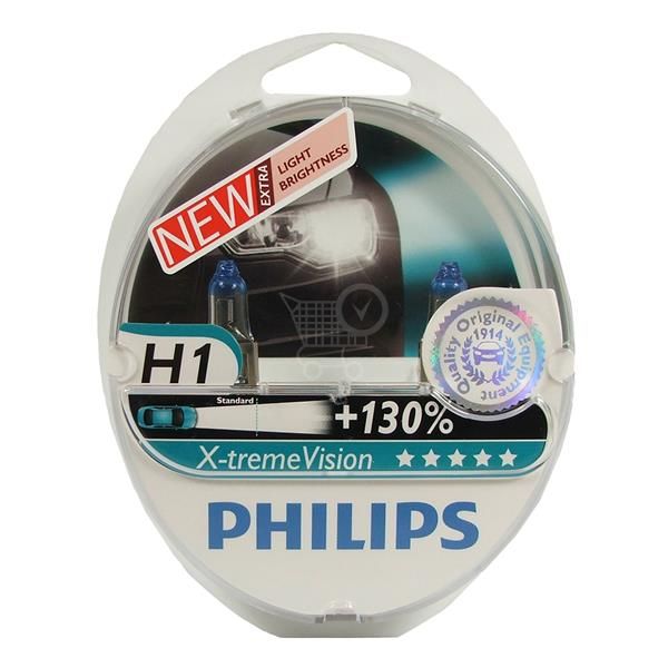 Philips X-treme Vision H1 12V 55W +130% Box