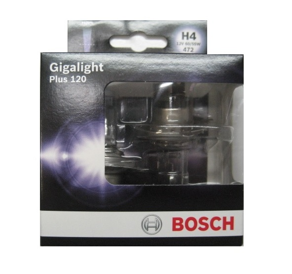 Bosch Plus 120 12V H4 60/55W Box
