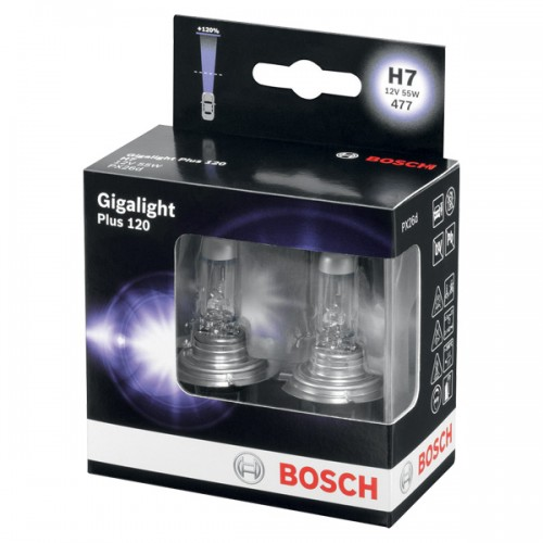 Bosch Plus 120 12V H7 55W Box