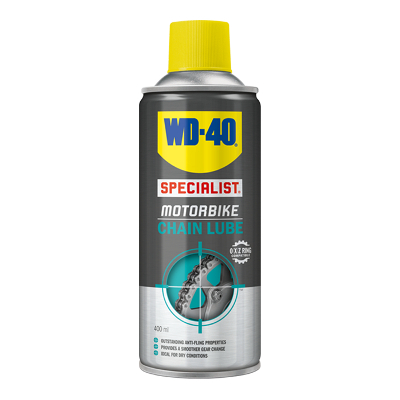 WD-40 Motorbike Chain Lube 400 ml