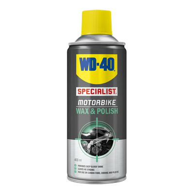 WD-40 Motorbike Wax & Polish 400 ml