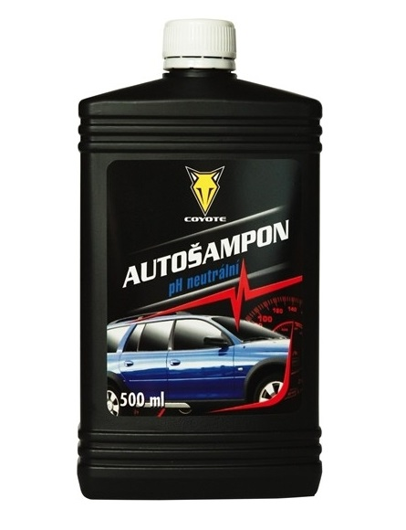 Coyote Autošampón 500 ml